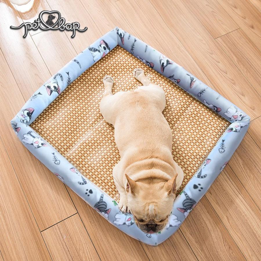 Giường ngủ đệm mát cho thú cưng