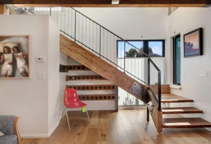 8 ý tưởng tận dụng triệt để gần cầu thang