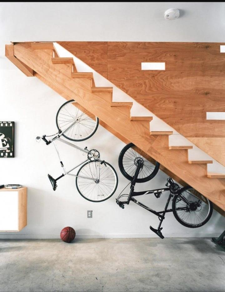 8 lợi ích khi tận dụng gầm cầu thang