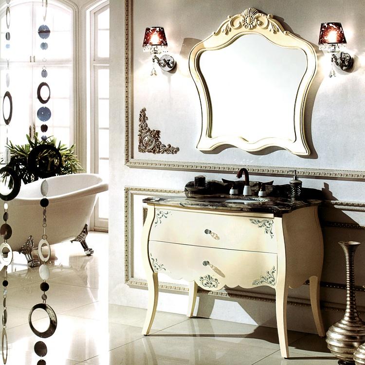 nội thất nhà tắm phong cách tân cổ điển đẹp mắt