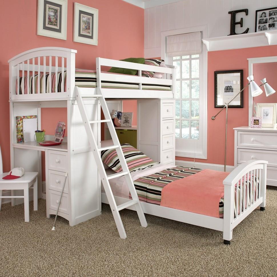 Bố trí giường kéo cho phòng ngủ trẻ em