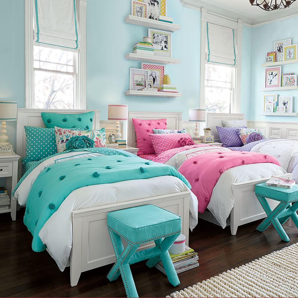 Bố trí giường ngủ song song cho trẻ em