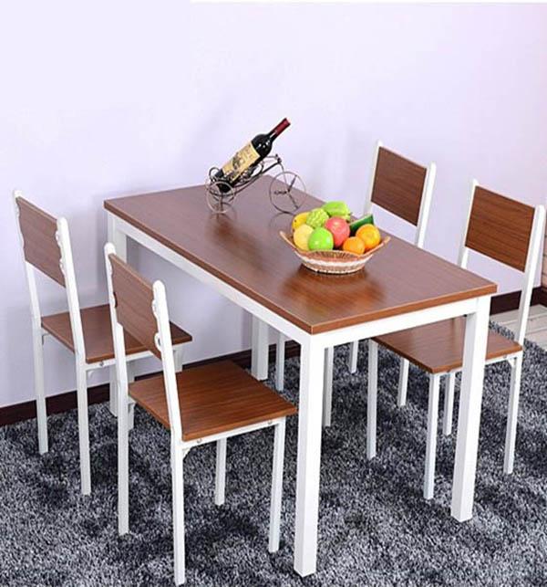bàn ăn bằng gỗ công nghiệp