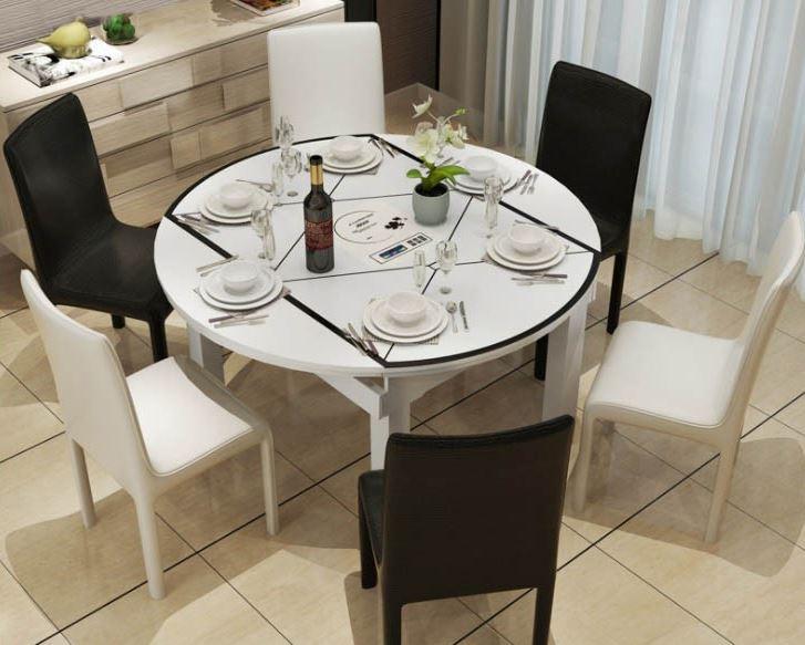 bàn ăn thông minh dạng tròn