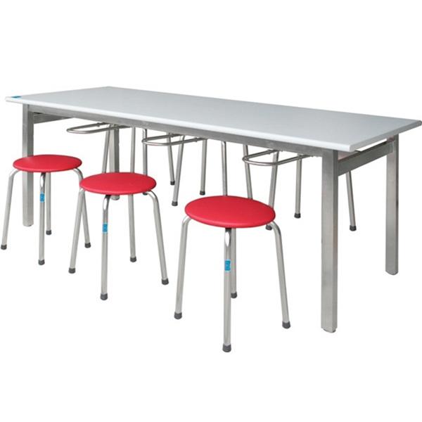 bàn ghế ăn bằng inox