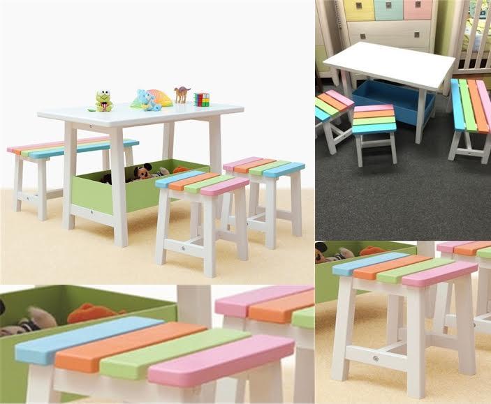 bàn ghế công nghiệp cho nhà trẻ