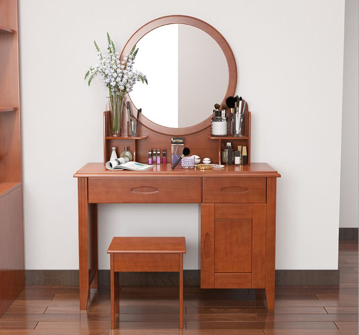 bàn trang điểm bằng gỗ tự nhiên