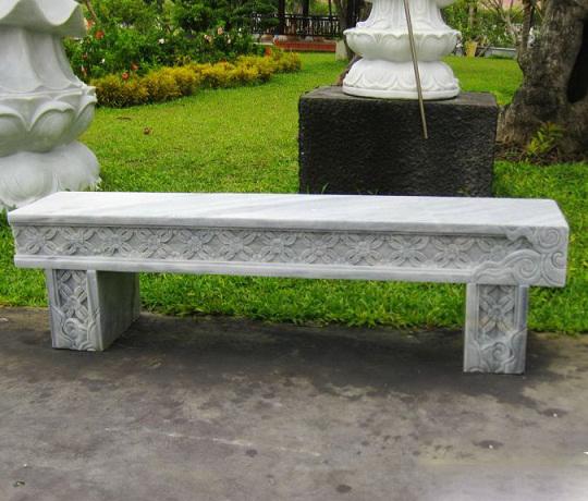 băng ghế đá dài cho sân vườn nhà bạn