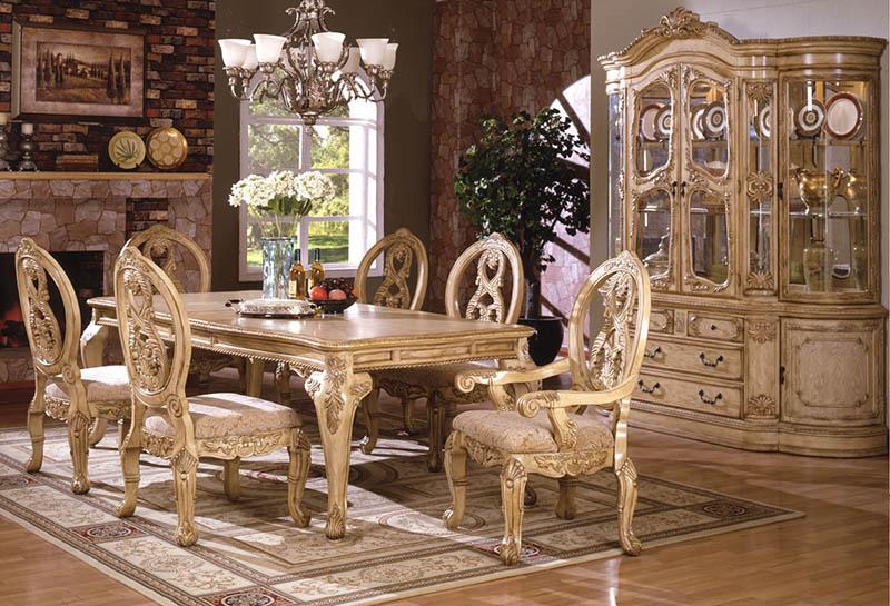 bộ bàn ghế ăn dành cho 6 người
