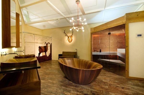 bồn tắm bằng gỗ 2