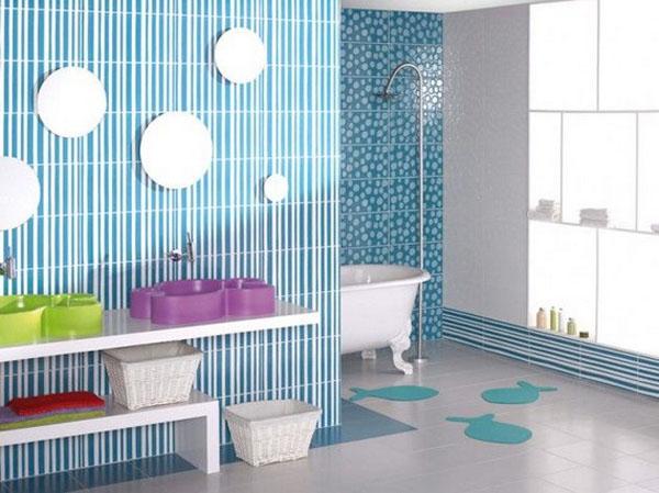 ý tưởng trang trí phòng tắm cho bé yêu 10