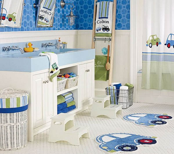 ý tưởng trang trí phòng tắm cho bé yêu 11