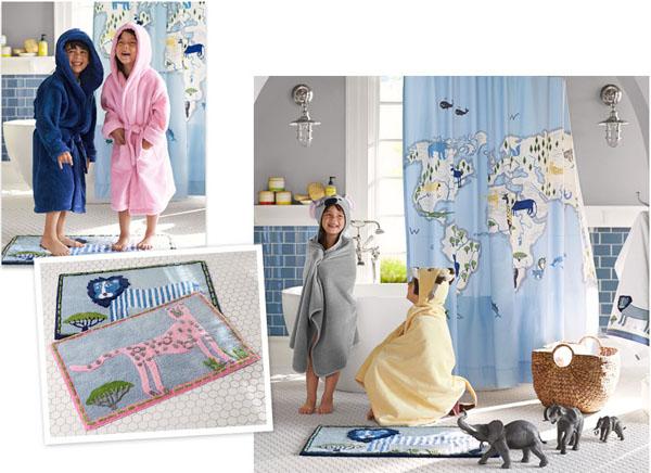 ý tưởng trang trí phòng tắm cho bé yêu 15