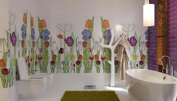 Những ý tượng trang trí phòng tắm cho bé yêu 2