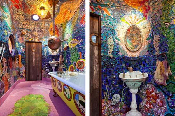 ý tưởng trang trí phòng tắm cho bé yêu 8