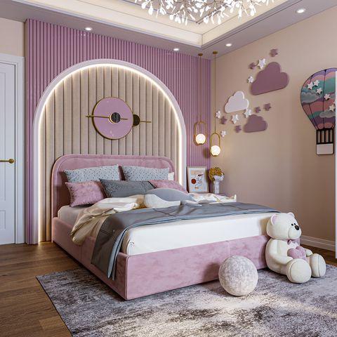 cách phồi màu nội thất phòng ngủ cho bé 4