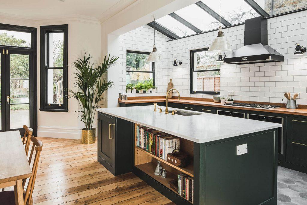 đảo bếp hiện đại tiện nghi