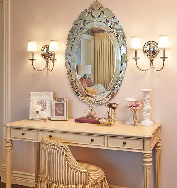 Gương trang trí chuẩn phong thuỷ phòng ngủ