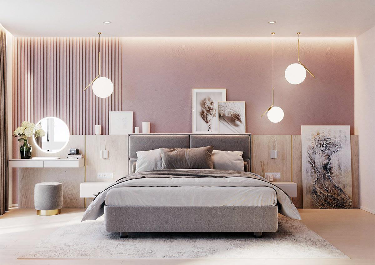 đèn trang trí phòng ngủ độc đáo