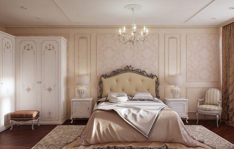 đèn trang trí phòng ngủ cổ điển
