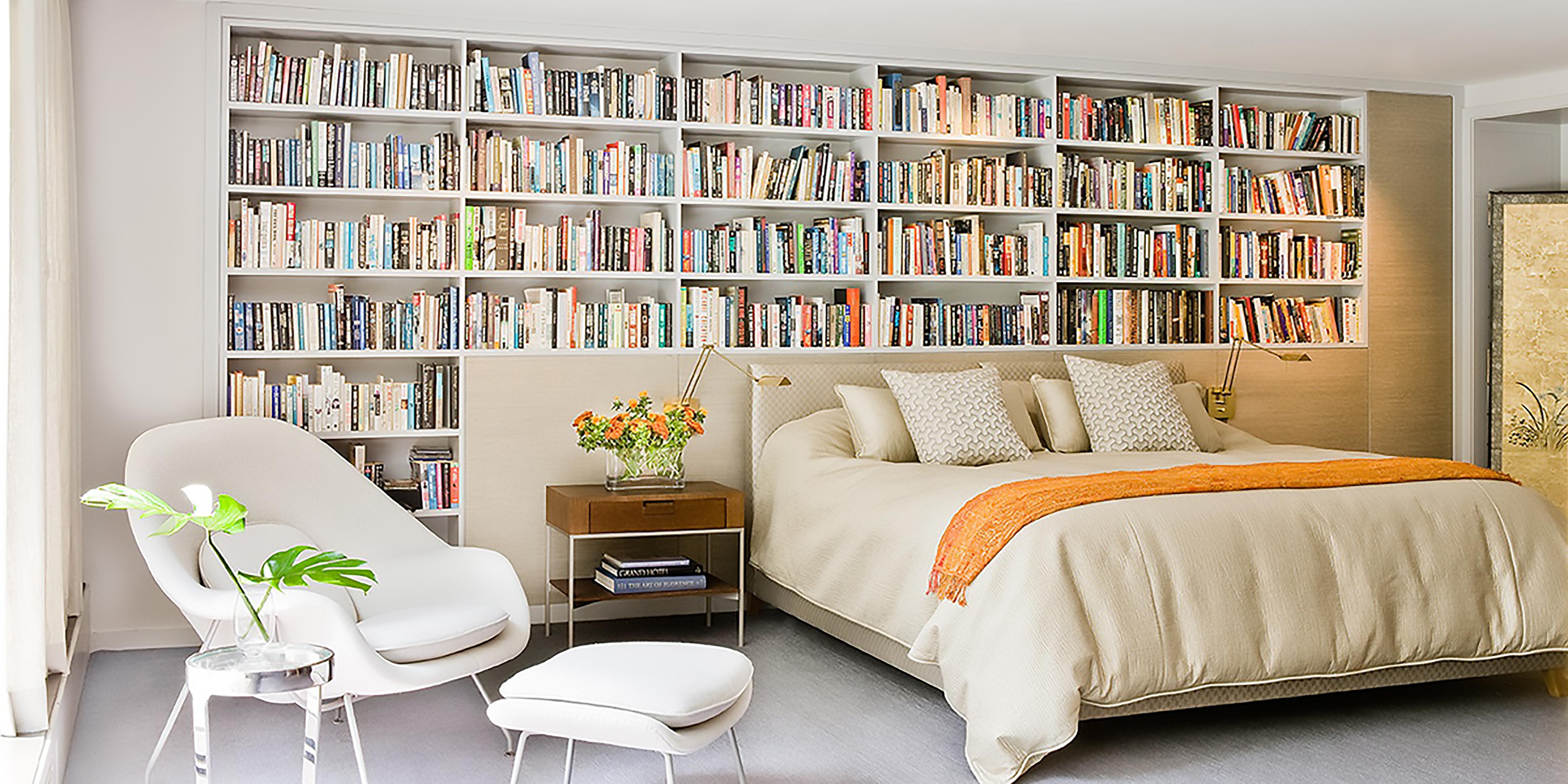 ghế đọc sách bố trí trong phòng ngủ