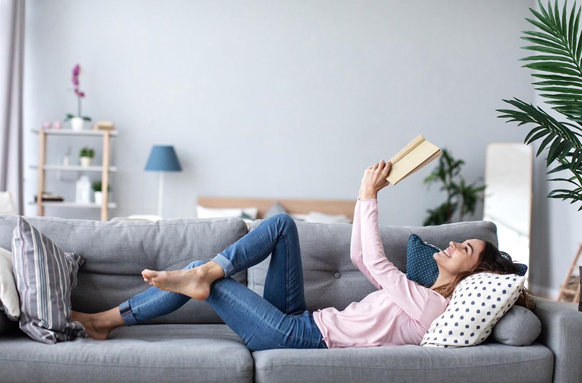 ghế đọc sách sofa dài