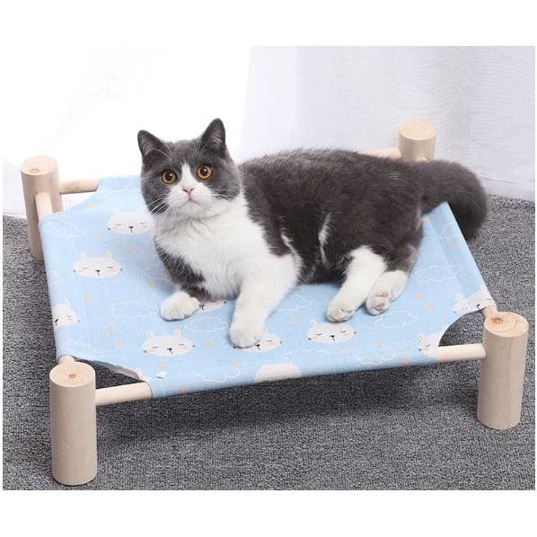 Giường võng gỗ cho thú cưng