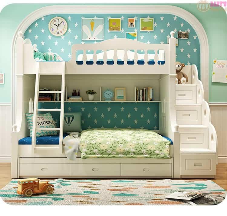 mẫu giường ngủ 2 tầng cho bé