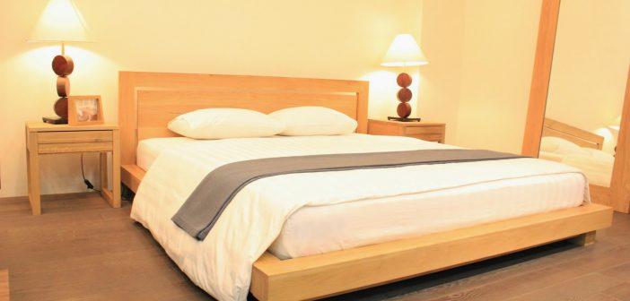 giường ngủ bằng gỗ công ngiệp
