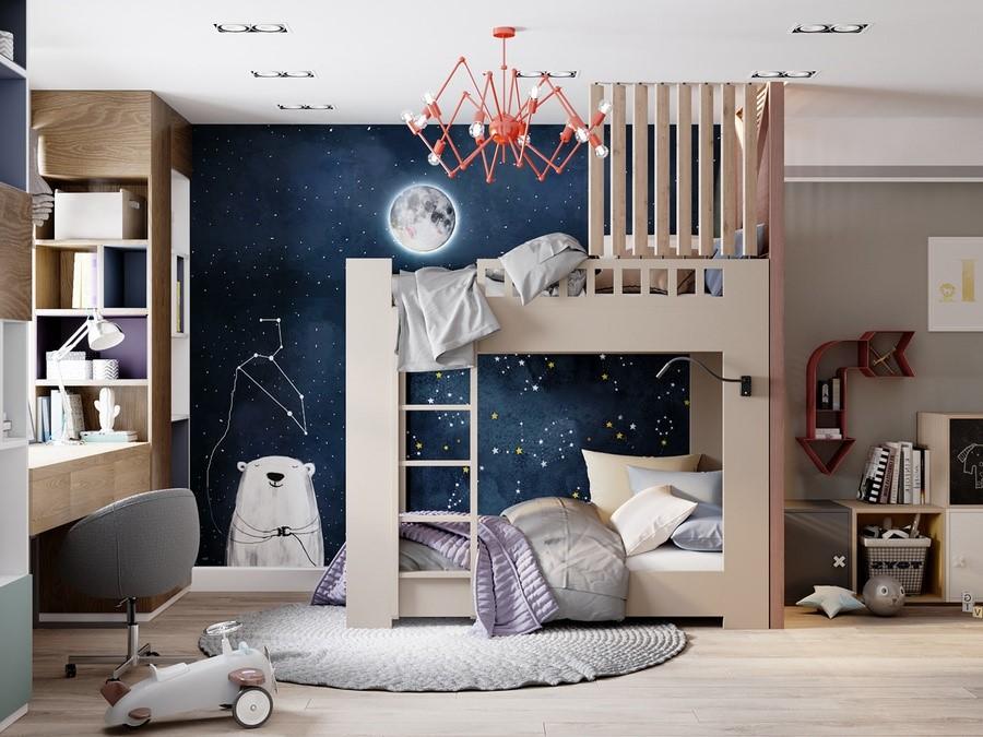 giường ngủ cho bé trai 4
