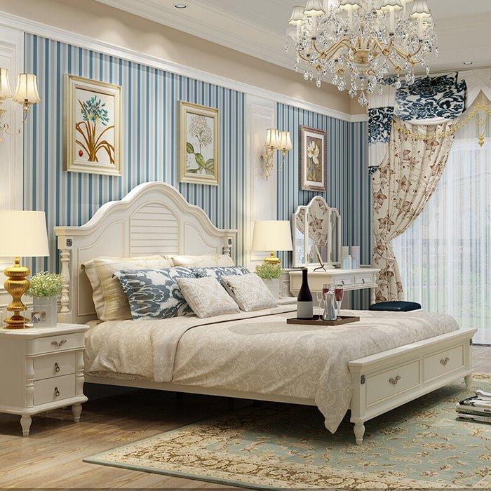 Giường ngủ gỗ công nghiệp mang phong cách cổ điển