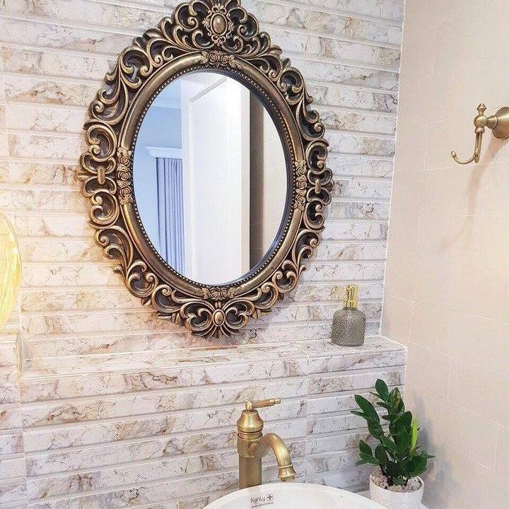 gương trang trí phòng tắm cổ điển