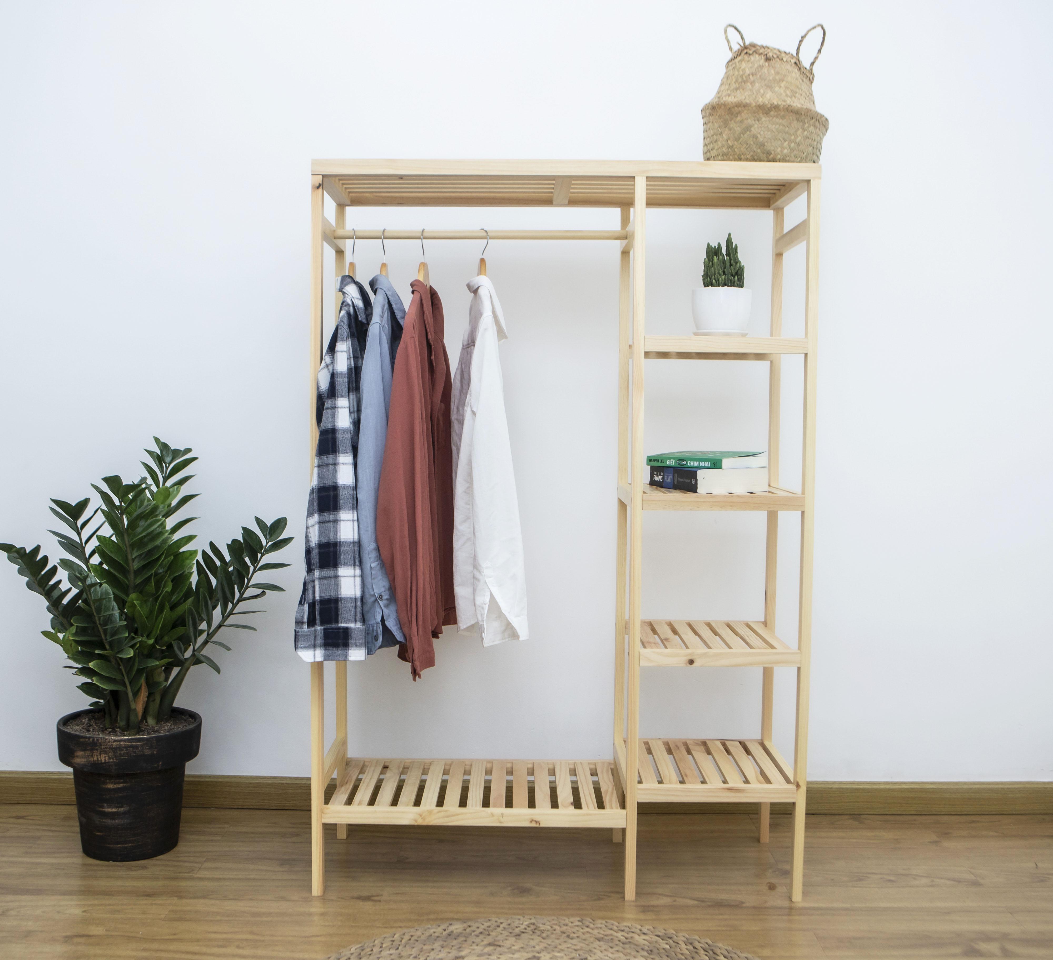 Giá treo quần áo đa năng