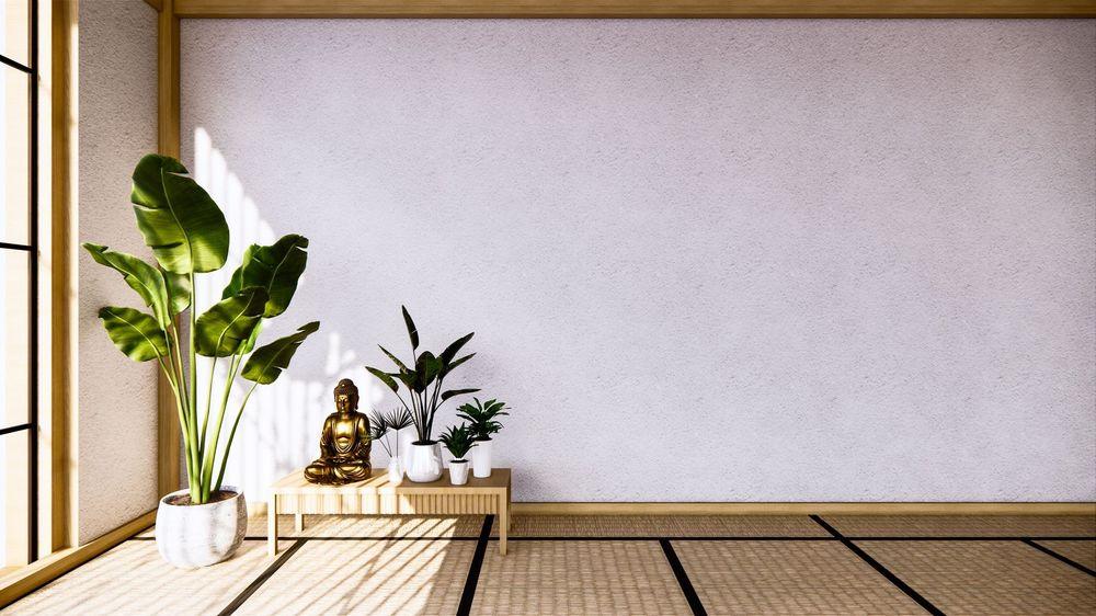 không gian thiền đơn giản tại nhà