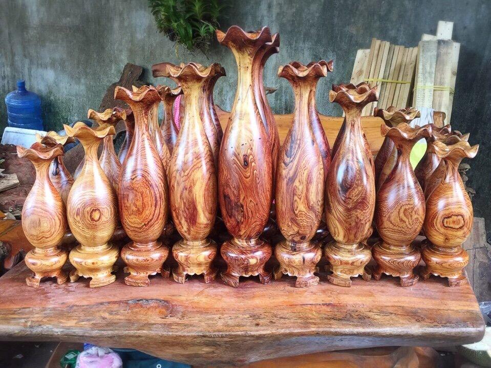 Lục bình gỗ phong thuỷ