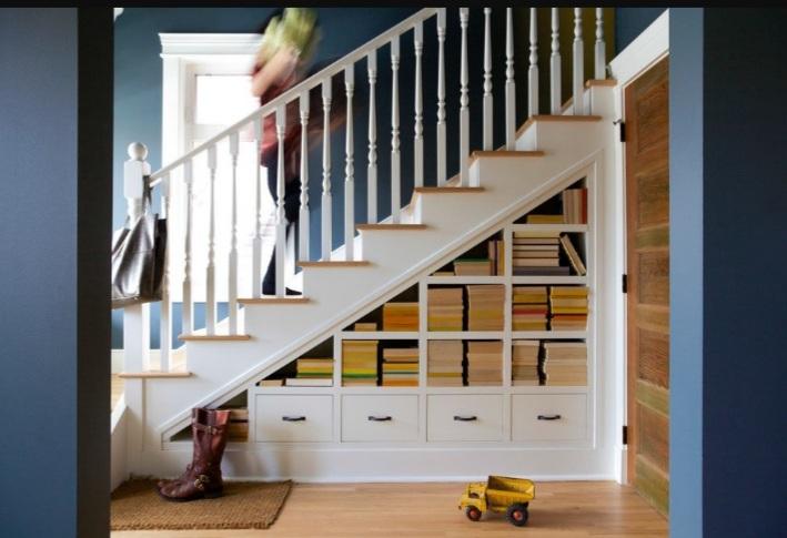 lợi ích trong việc tận dụng gầm cầu thang
