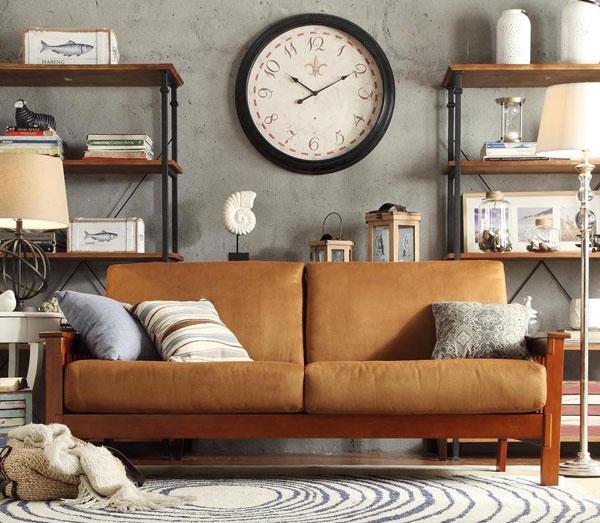 Ghế Sofa màu nâu nhạt