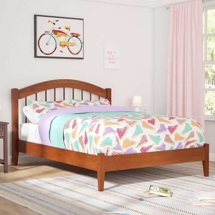 mẫu giường ngủ cho bé 5 tuổi