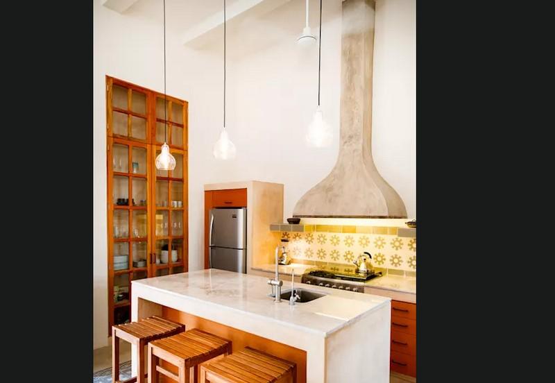mẫu tủ bếp dành cho không gian hẹp