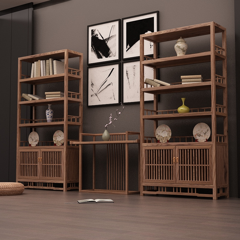 lưu trữ đồ đạc gọn gàng theo phong cách Zen