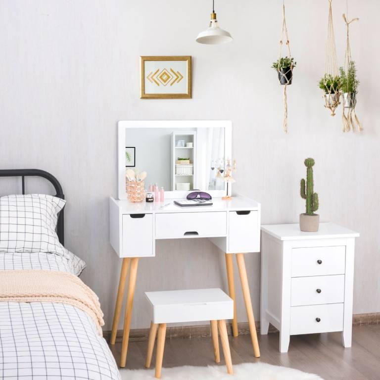 thiết kế nội thất phòng ngủ cho vợ chồng son 4
