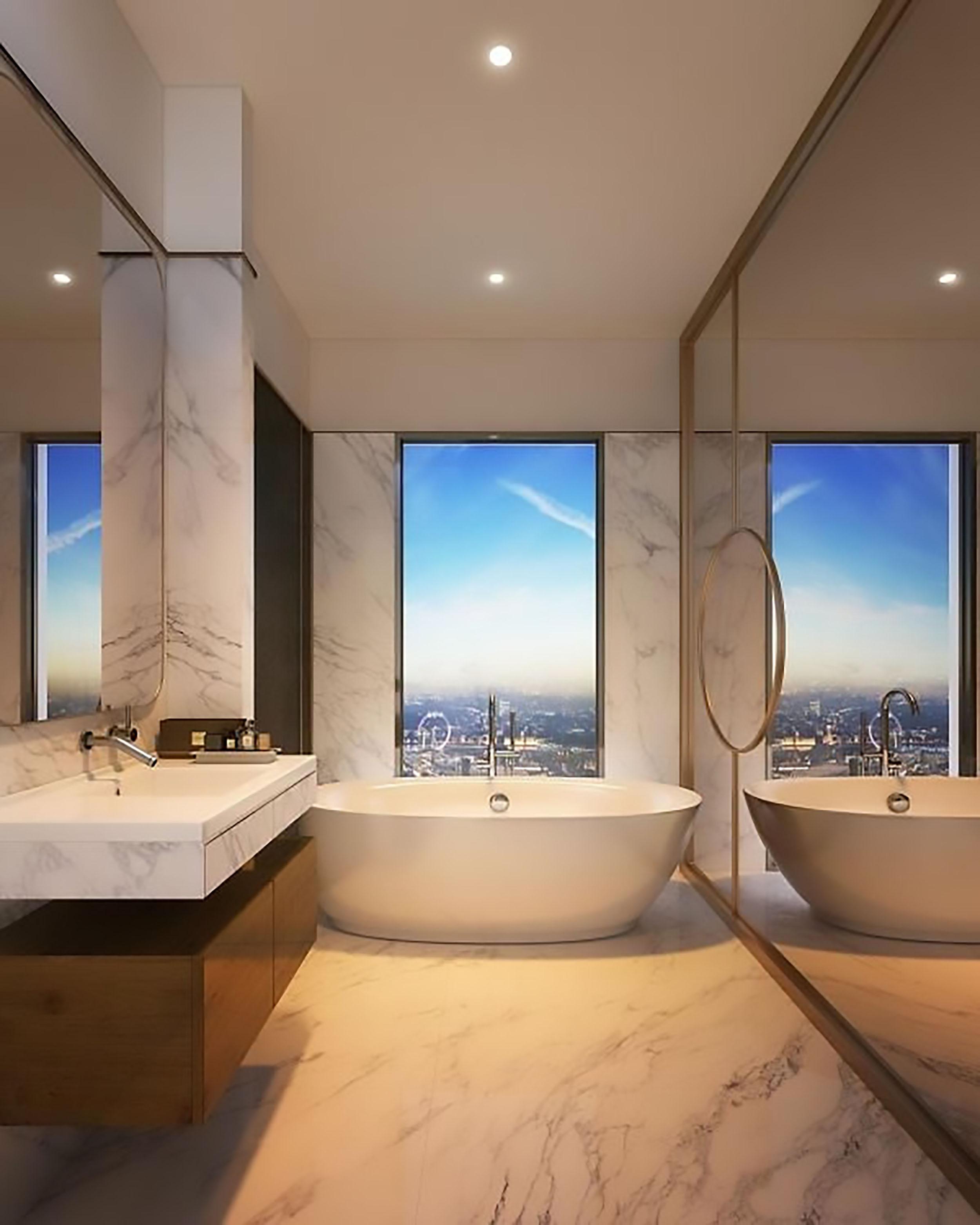 nội thất phòng tắm căn hộ Duplex