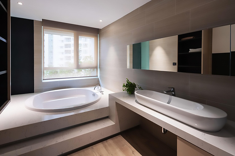 thiết kế nội thất phòng tắm căn hộ Duplex