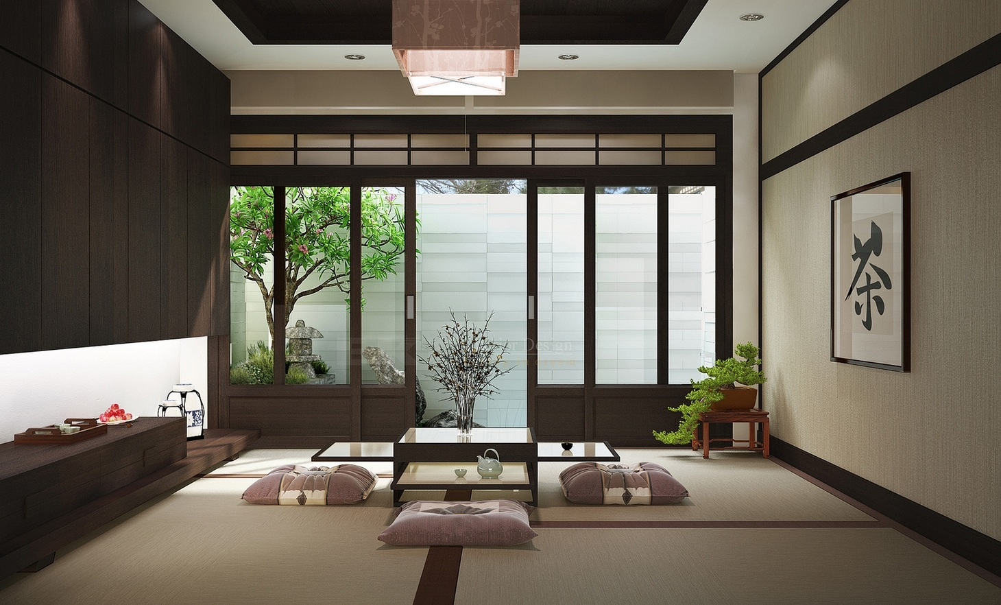 nội thất phong cách Zen
