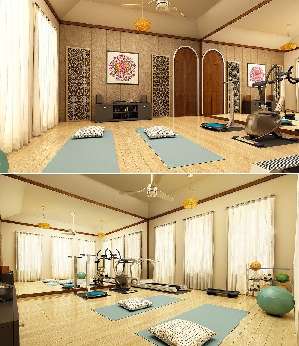 thiết kế phòng tập gym, yoga