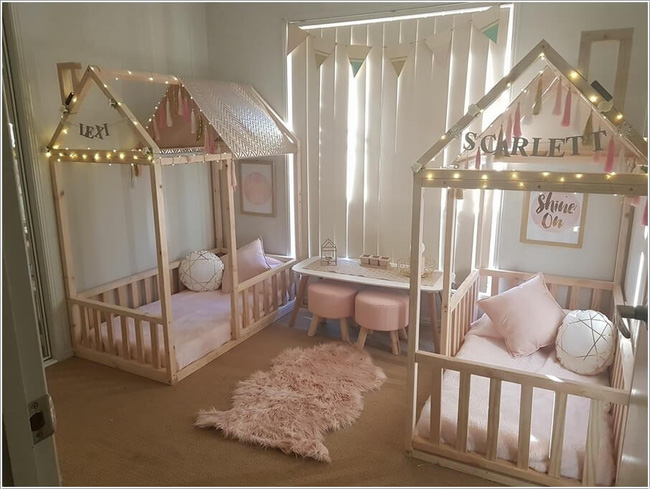 giường ngủ cho bé sinh đôi 3