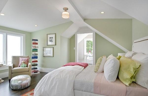 phòng ngủ gam màu hồng 11