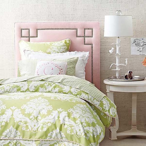 phòng ngủ gam màu hồng 12
