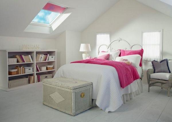 phòng ngủ gam màu hồng 6