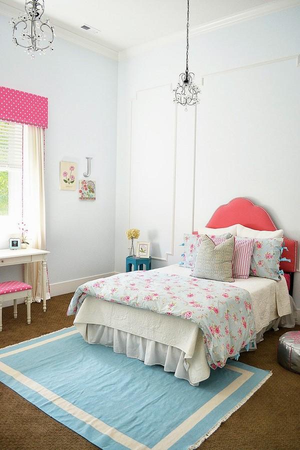 phòng ngủ gam màu hồng 9